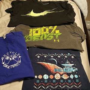 Nike and Under Armour Mens Tshirts